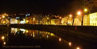 River Lee by night
