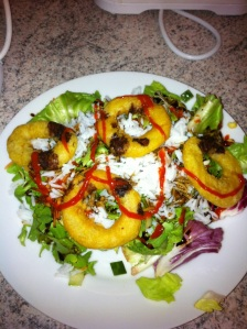 Here is a calamari dish I prepared myself!