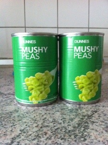 Here are the mushy peas! Head over and ask Helen about the journey they had here.