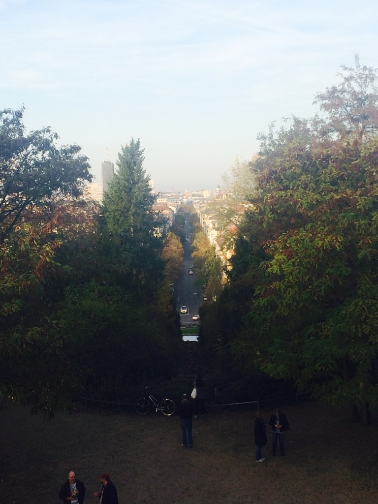 It is in very few places that you can enjoy a view of Berlin such as this.