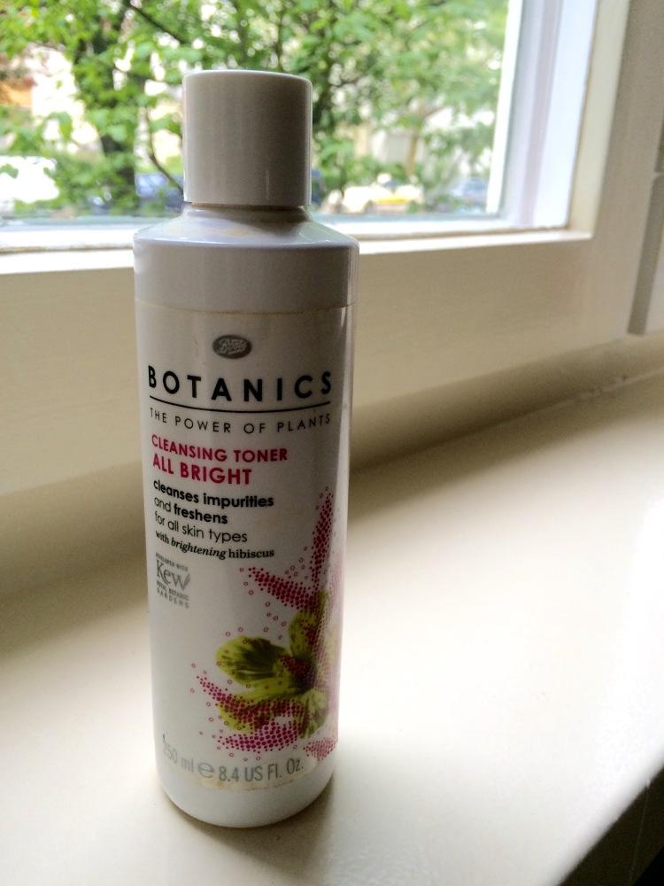 Boots Botanics Cleansing Toner All Bright