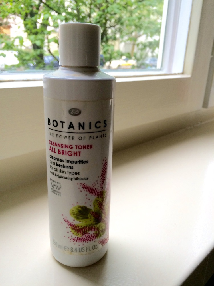 Boots Botanics Cleansing Toner All Bright