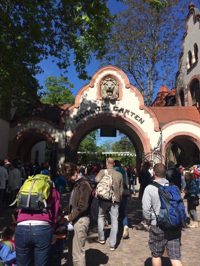 Entrance Gate to Leipzig Zoo