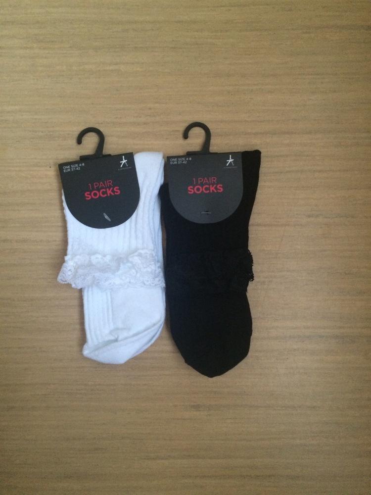 Frilled socks
