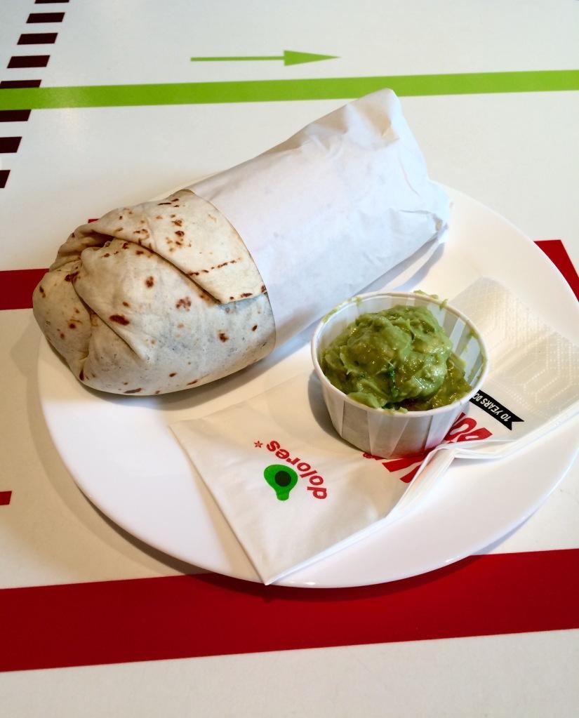 'Vegan friend' burrito, Dolores, Berlin