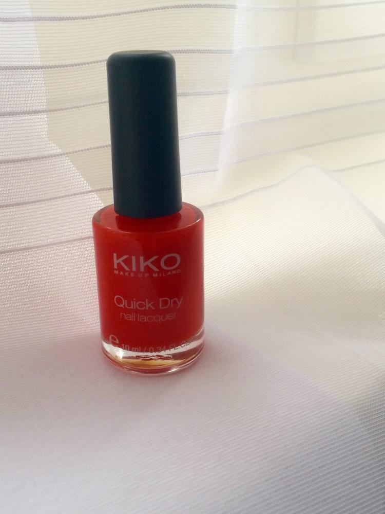 Kiko nail varnish