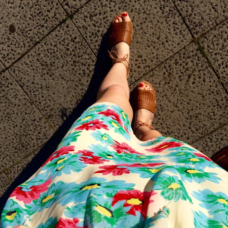 Dress from New Look, sandals from Penneys/Primark