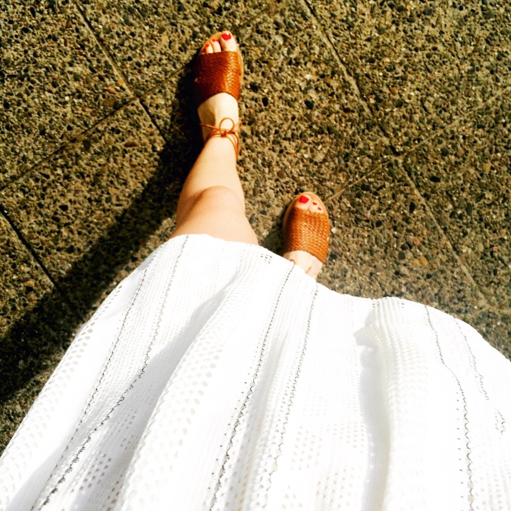 Dress from Topshop, Sandals from Penneys/Primark