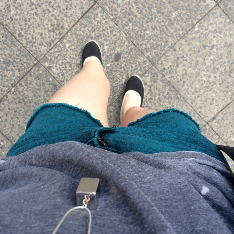 Shorts from Penneys/Primark, top from New Look, chain from Topshop, shoes from Debenhams