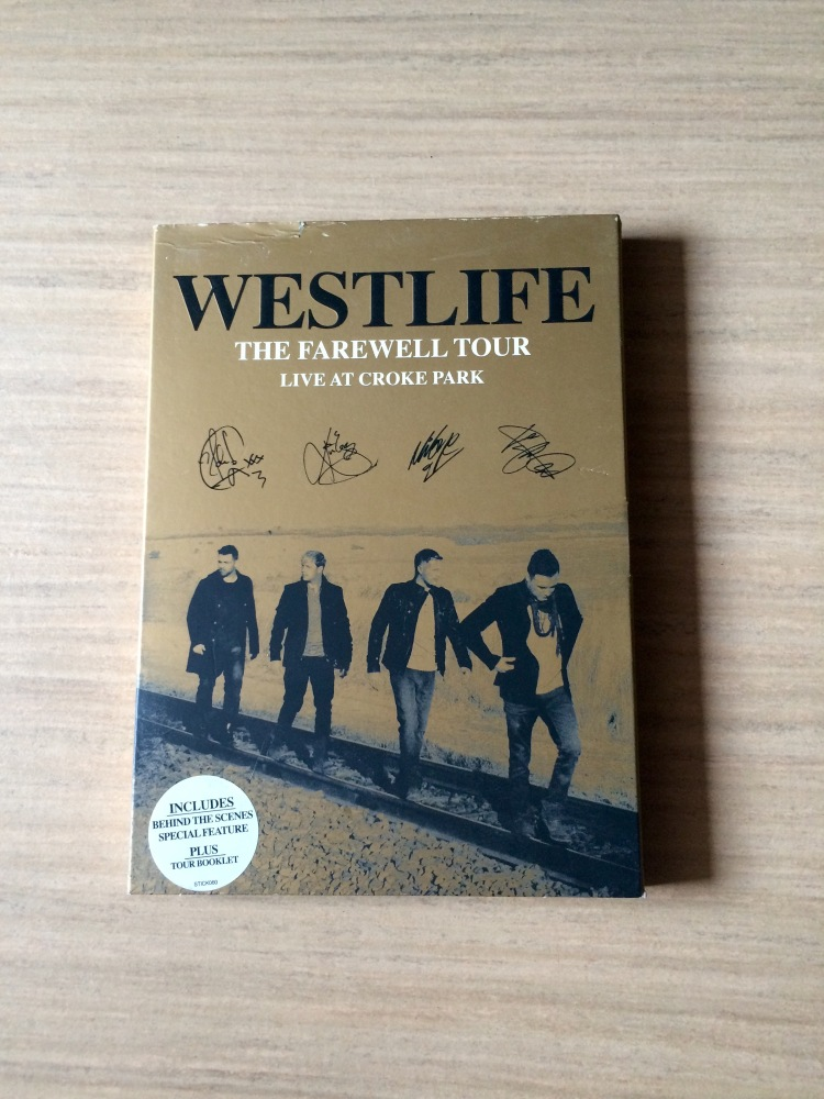Westlife The Farwell Tour Live At Croke Park