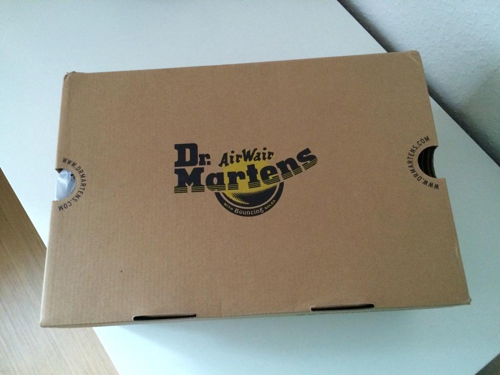 Dr. Martens 8 Eyelet Tan Boots