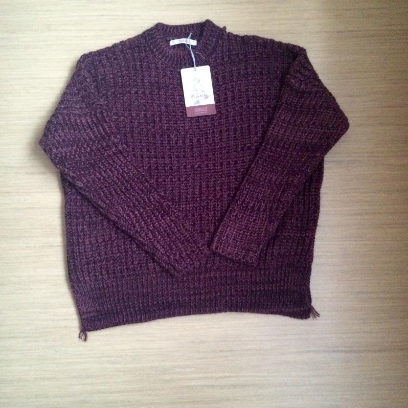 Burgundy Knit Jumper - €35.99