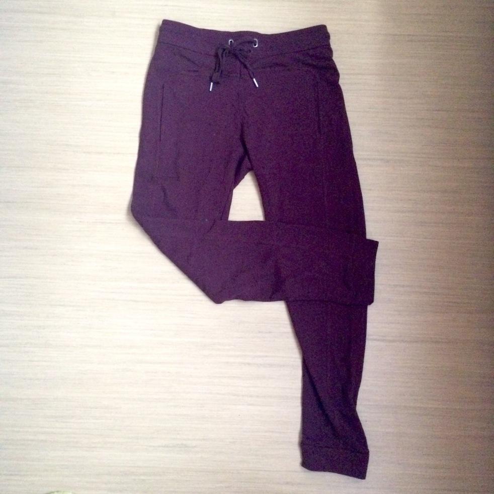 Burgundy Tracksuit Pants - €15.99
