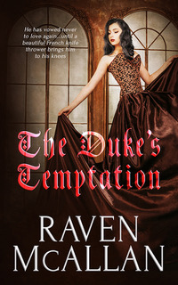 Book Review: The Duke's Temptation by Raven McAllan