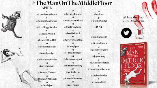 The Man on the Middle Floor Blog Tour