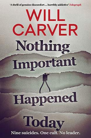 Nothing Important Happened Today Book Cover