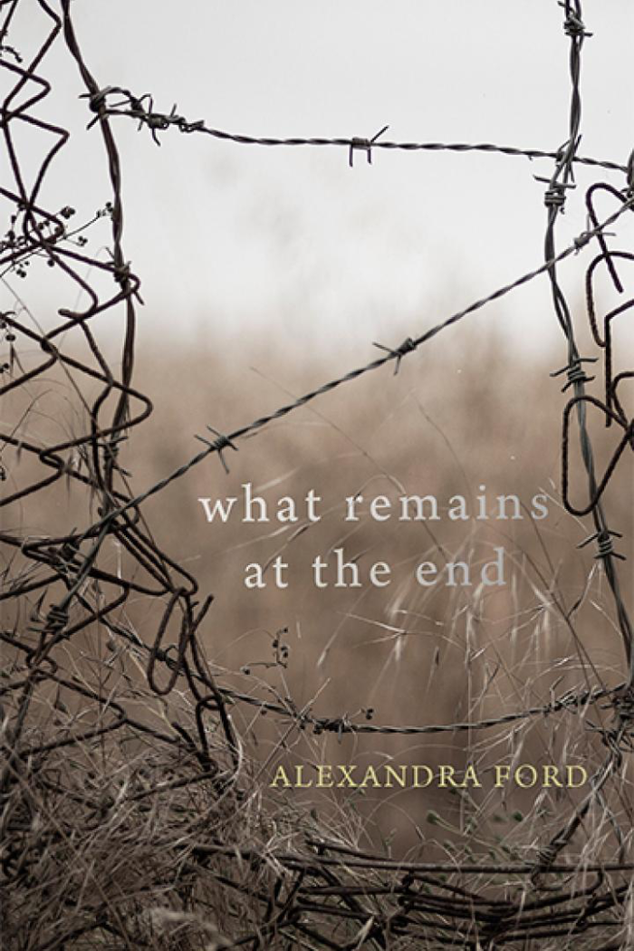 What Remains at the End Book Cover