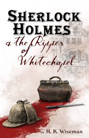 Sherlock Holmes & the Ripper of Whitechapel. Book Cover